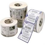 Z-Select 4000T - Coated ultra-smooth permanent acrylic adhesive paper labels - bright white - 4 in x 2.5 in 8880 label(s) ( 4 roll(s) x 2220 ) - for Z4Mplus, Z6MPlus, ZM400, ZM600; Xi Series 110, 140, 170, 220; Z Series ZM400, ZM600