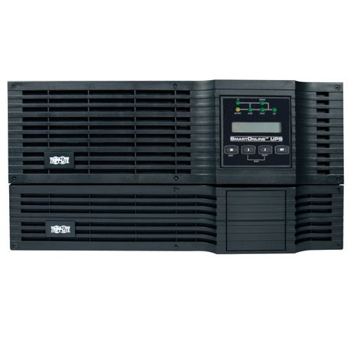 TrippLite SmartOnline 5kVA On-Line Double-Conversion UPS and SNMPWEBCARD - For remote monitoring and control via SNMP, Web or Telnet