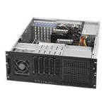 Supermicro SC842 TQ-865B - Rack-mountable - 4U - extended ATX - SATA/SAS - hot-swap 865 Watt - black - USB