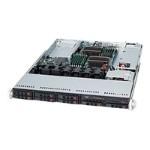 Supermicro SC113 TQ-563UB - Rack-mountable - 1U - extended ATX - SATA/SAS - hot-swap 560 Watt - black