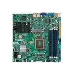 SUPERMICRO X9SCM-F - Motherboard - micro ATX - LGA1155 Socket - C204 - 2 x Gigabit LAN - onboard graphics