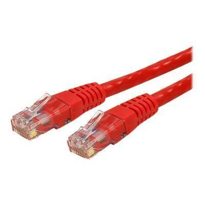 StarTechMolded Cat 6 UTP Patch Cable - ETL Verified - patch cable - 10 ft - red(C6PATCH10RD)