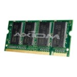 Axiom Memory AX - Memory - DDR - 1 GB - SO-DIMM 200-pin - 266 MHz / PC2100 - unbuffered - non-ECC - for Apple iBook M9682G/A-AX