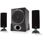 Cyber Acoustics 68W Peak Power - 2.1 Speaker System CA-3550RB