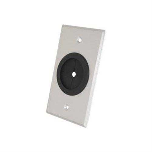 Cables To Go Classic Series Single Gang 1.5in Grommet Wall Plate - wall plate