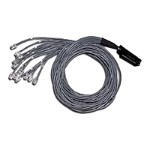 Telco 180 To Hydra - Network cable - RJ-21 Telco (M) to RJ-45 (M) - 10 ft - CAT 5 - white