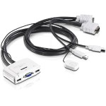 TRENDnet TK 217I - KVM / audio switch - USB - 2 x KVM / audio - 1 local user - desktop TK-217I