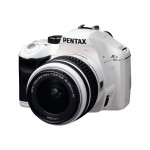 K-x - Digital camera - High Definition - SLR - 12.4 MP - 3 x optical zoom DA L 18-55mm AL lens - white