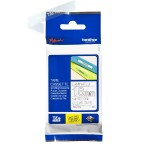 TZe145 - Laminated tape - adhesive - white on clear - Roll (0.7 in x 26.3 ft) 1 roll(s) - for P-Touch PT-3600, 750, D400, D600, E500, E550, H101, H500, P700, P750; P-Touch EDGE PT-P750