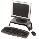 Smart Suites Monitor Riser - Stand for monitor - plastic - multicolor - screen size: 21""