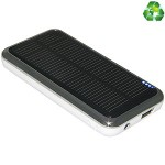 PowerBAR - Solar charger Li-pol 3500 mAh - for BlackBerry Curve 8520; Motorola MC35; Sony Ericsson J300, S710, T200, T608, T61, Z500