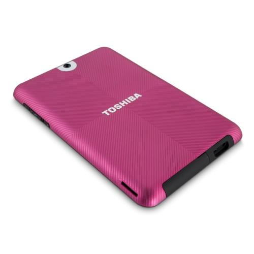 "Toshiba Colored Back Cover (for 10"" Tablet PC series) – Raspberry Fusion"