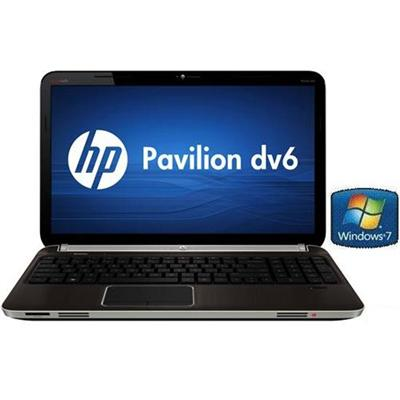HP Pavilion dv6-6090us Intel Core i5-2410M 2.30GHz Entertainment Notebook - 6GB RAM, 750GB HDD, 15.6