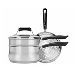 4 PC Stainless Steel Cookware
