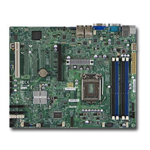 Super Micro MBD-X9SCI-LN4-B Socket H2 LGA1155 Intel C204 PCH ATX Motherboard - Brown Box