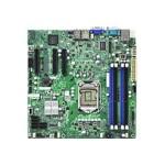 SUPERMICRO X9SCL-F - Motherboard - micro ATX - LGA1155 Socket - C202 - 2 x Gigabit LAN - onboard graphics