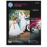 HP Inc. Premium Plus Soft-gloss Photo Paper 280 gsm - 50 sheet/Letter/8.5 x 11 in CR667A
