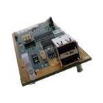 DKM HD Video and Peripheral Matrix Switch Receiver Modular Interface Card - USB extender - up to 6.2 miles - for P/N: ACXMODH4