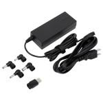 Laptop Charger (AC) - Power adapter - United States - black - for Acer Aspire F 15; Dell Latitude 3470, 3570; HP 240 G5; ProBook 450 G4, 640 G2, 65X G2