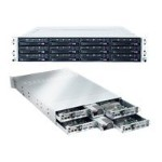 Supermicro SuperServer 6026TT-H6RF - 4 nodes - cluster - rack-mountable - 2U - 2-way - RAM 0 MB - no HDD - MGA G200eW - GigE - no OS - monitor: none