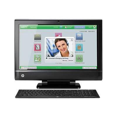 HP TouchSmart 9300 Elite - Core i3 2120 3.3 GHz - 4 GB - 500 GB - LED 23