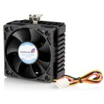 65x60x45mm Socket 7/370 CPU Cooler Fan w/ Heatsink & TX3 connector - Processor cooler - (for: Socket 370, Socket 7) - 60 mm