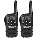 Midland 18-Mile 22-Channel FRS/GMRS 2-Way Radios - Refurbished LXT114R