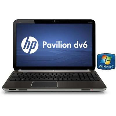 HP Pavilion dv6-6091nr Intel Core i7 2.0GHz Notebook PC - 6GB RAM, 1TB Hard Drive, 15.6