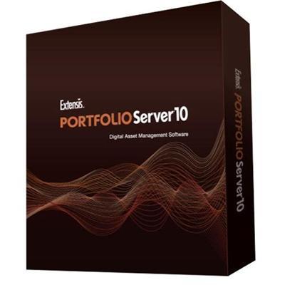 ExtensisPortfolio Server v10 Pro; Bundle w/3 Clients (Cross-grade current version of Studio) ESD Upgrade +1yr ASA maint., English(PSE-10253)