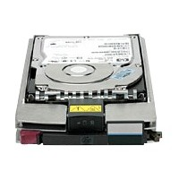 Hewlett Packard Enterprise StorageWorks - Hard drive - 450 GB - Fibre Channel - 15000 rpm - remarketed - for StorageWorks M6412A; StorageWorks Enterprise Virtual Array 4400 AG803BR