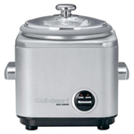 Cuisinart 4 Cup Rice Cooker Stainless - Factory Refurbished CRC-400FR
