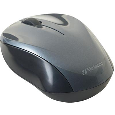 Verbatim Nano Wireless 2.4GHz Notebook Optical Mouse - Black (97670)