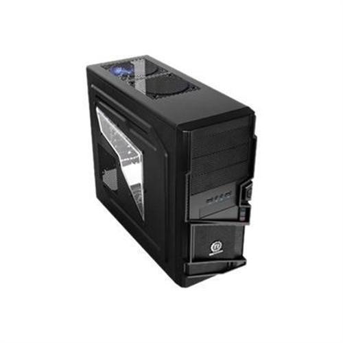 Commander MS I Mid tower ATX no power supply ATX black USB Audio