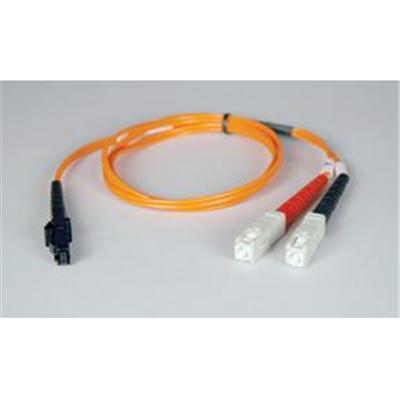 TrippLite6ft Duplex Multimode 62.5/125 Fiber Optic Patch Cable MTRJ-SC 2 meter(N310-006 )