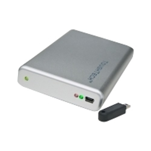 CRU-Wiebetech ToughTech Secure mini-Q - hard drive - 750 GB - FireWire 800 / USB 2.0 / eSATA