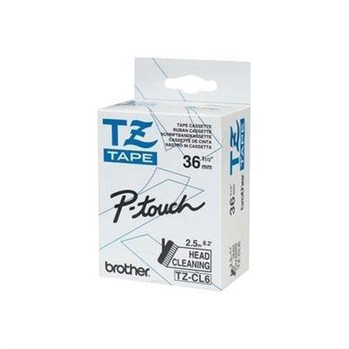 Brother TZe CL6 - cleaning tape - 1 roll(s)
