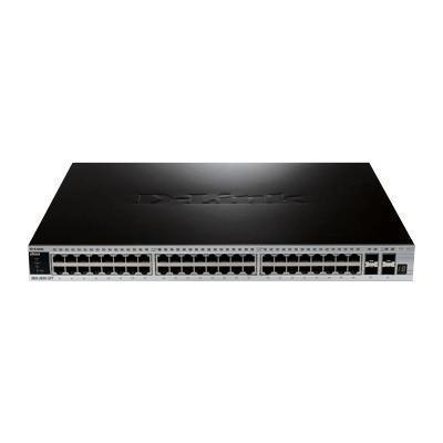 D-LinkxStack DGS-3620-52P - switch - 48 ports - managed - desktop(DGS-3620-52P/SI)