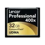 Lexar Media Professional UDMA - Flash memory card - 32 GB - 400x - CompactFlash LCF32GCTBNA400