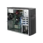 Supermicro SC732 i-865B - Mid tower - extended ATX 865 Watt - black - USB - for SUPERMICRO X9SCL, X9SCM, X9SCV-Q