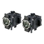 ELPLP52 - Projector lamp - UHE - 330 Watt (pack of 2) - for  EB-Z8000, EB-Z8050; PowerLite Pro Z8000, Pro Z8050