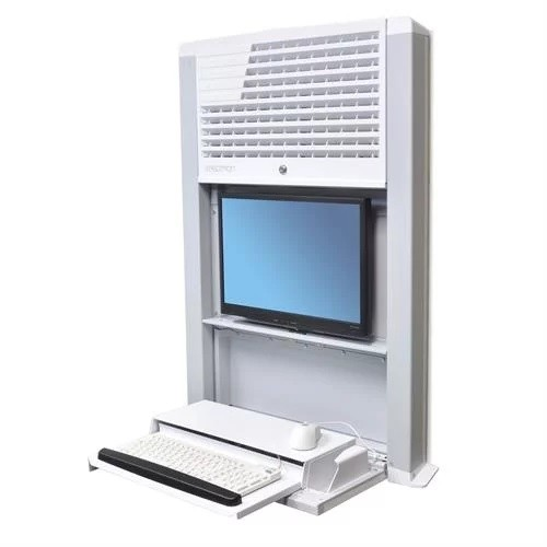 Pcm Ergotron Styleview Sit Stand Enclosure Wall Mount