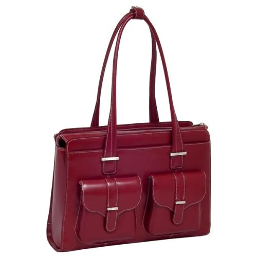 Mcklein Company Alexis Ladies' Briefcase - Red