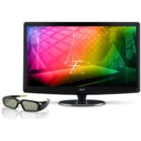27-Inch Full HD 3D LED Monitor w/3D Glasses