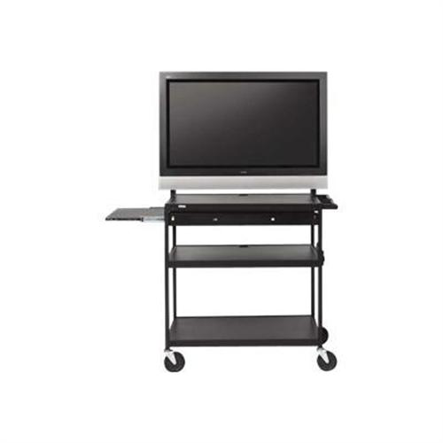 Bretford Manufacturing Basics Flat Panel Multimedia Cart FP60UL-E5BK - cart