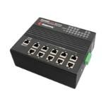 RocketLinx ES7510 - Switch - managed - 8 x 10/100/1000 (PoE) + 2 x 10/100/1000 - desktop, DIN rail mountable - PoE