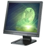 "High-Resolution 19"" LCD Color Monitor"