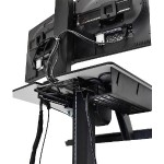 WorkFit-C, Single HD Sit-Stand Workstation / For Heavy Display (16–28 lbs monitor)
