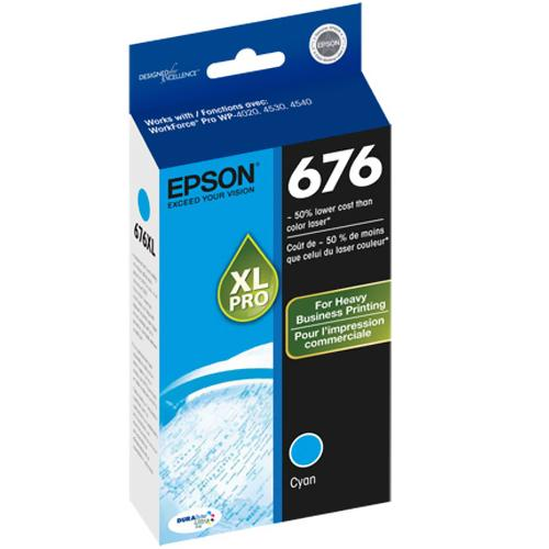 Epson XL Ink Cartridge - Cyan