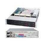 Supermicro SC826 E16-R1200LPB - Rack-mountable - 2U - extended ATX - SATA/SAS - hot-swap 1200 Watt - black