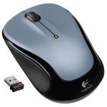 M325 2.4GHz Optical Wireless Mouse - Light Silver